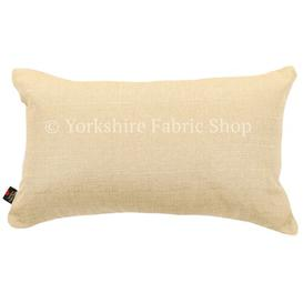 image-Malton Lumbar Cushion with filling Yorkshire Fabric Shop Colour: Cream