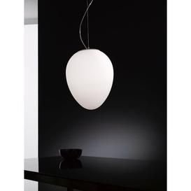image-Alice 1 Light Globe Pendant Selene Illuminazione Size: 44 cm