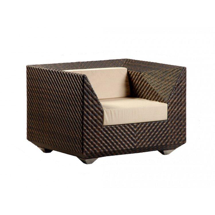image-Alexander Rose Ocean Bronze Garden Maldives Armchair With Cushion