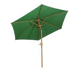 image-3m Woodlook Crank and Tilt Parasol Green