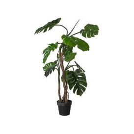 image-Faux Monstera Tree