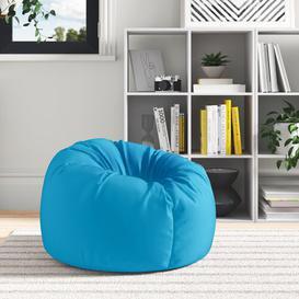 image-Kids Outdoor Bean Bag Chair Zipcode Design Upholstery: Aqua