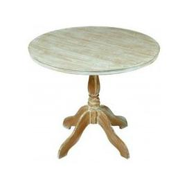 image-Senegal Contemporary Wooden Dining Table Round In Oak