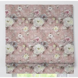 image-Padva Monet Blackout Roman Blind Dekoria Size: 170cm L x 160cm W, Colour: Pink