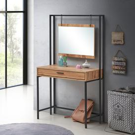 image-Goguen Dressing Table with Mirror Williston Forge