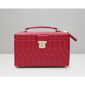 image-Medium Caroline Jewellery Box WOLF Colour: Red