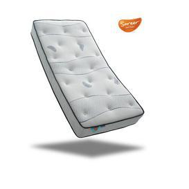 image-Cool Blue Pocket Sprung 800 Mattress Wayfair Sleep Size: Small Single (2'6)