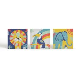 image-Arthouse Play Set of 3 Kid's Wall Art