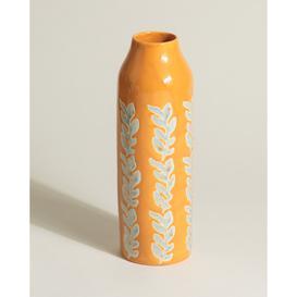 image-Clementina Orange Ceramic Vase