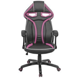 image-Executive Gaming Chair Symple Stuff Colour: Purple