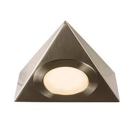 image-Nyx cct LED single under cabinet light in brushed chrome - 86712.
