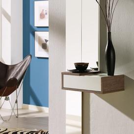 image-Minna Console Table and Mirror Set Ebern Designs Colour: Eco