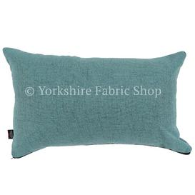 image-James Cushion with Filling Yorkshire Fabric Shop Colour: Teal