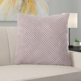 image-Alvarado Cushion with Filling Ebern Designs Size: 28 x 28cm, Colour: Pink