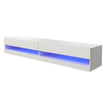 image-Galicia 180cm LED Wide Wall TV Unit White