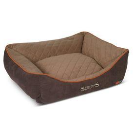 image-Bolster Cushion Scruffs Size: 16cm H x 50cm W x 40cm D, Colour: Brown