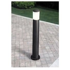 image-Bauerle Bollard Sol 72 Outdoor Finish: Black, Size: 80cm H x 10cm W x 10cm D