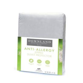 image-Downland Zipped Anti-Allergy Duvet Protector