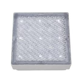 image-Recessed Small Square Walkover Light With White LED