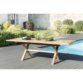 image-Xiao Extendable Teak Dining Table Sol 72 Outdoor