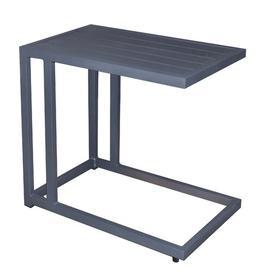 image-Zukowski Aluminium Side Table Dakota Fields Colour: Graphite