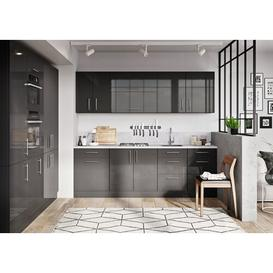 image-Twinspur Kitchen Pantry Mercury Row Finish: Graphite