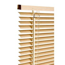 image-Room Darkening Venetian Blind Symple Stuff Finish: Natural, Size: 120cm x 160cm