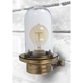 image-Bellemeade Outdoor Wall Lantern Breakwater Bay Fixture Finish: Oxide Brass
