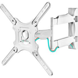 "image-""Articulating/Tilt/Swivel Universal Wall Mount for Greater than 50"""" Flat Panel Screens ONKRON"""