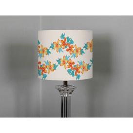 image-Millefleur Cotton Drum Lamp Shade Ebern Designs Size: 25cm H x 40cm W x 40cm D