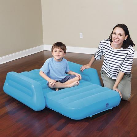 image-Kids Little Traveller Airbed Blue