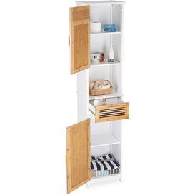 image-Croyd 39Cm W x 180Cm H x 30Cm D Tall Bathroom Cabinet
