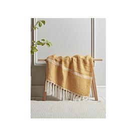 image-Mustard Chevron Throw