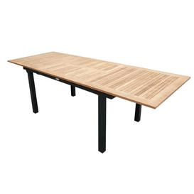 image-Navya Extendable Aluminium Dining Table Sol 72 Outdoor Size: H100 x L324 x W224