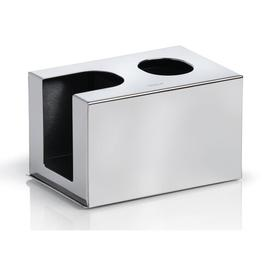 image-Nexio Bud and Pad Tissue Box Cover Blomus Finish: Polished