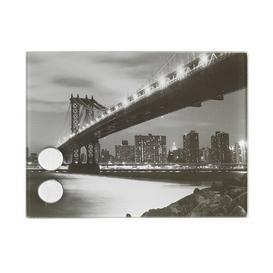 image-Manhattan Bridge Key Box Brayden Studio Size: 15cm H x 20cm W x 5cm D