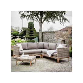 image-Garden Trading Walderton Corner Sofa Set in All-Weather Rattan