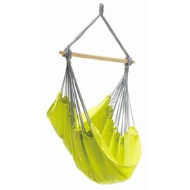 image-Juan Hanging Chair Freeport Park Colour: Kiwi