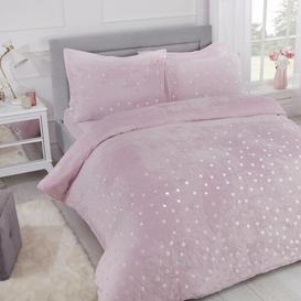 image-Dyar Duvet Cover Set Fairmont Park Colour: Blush, Size: Super King 2 Pillowcase(s) (74 x 48cm)
