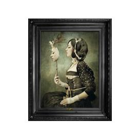 image-'Mirror Mirror...' Canvas (size: Small)