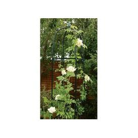 image-1.9m Garden Obelisk Green Plant Support