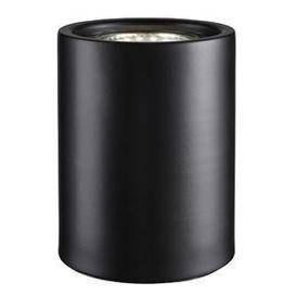 image-Small Modern Black LED Floor / Table Lamp Uplighter
