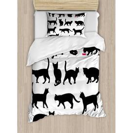 image-Lohman 350 TC Duvet Cover Set Ebern Designs Size: Single - 1 Standard Pillowcase