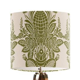 image-30cm Cotton Drum Table Lamp Shade Bloomsbury Market