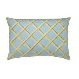 image-38x55cm Scatter Cushion in Horizon Lattice