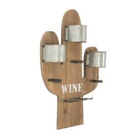 image-Bellevue 3 Bottle Wall Mounted Wine Rack