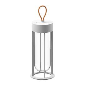 image-Flos - In Vitro Outdoor Table Lamp - White