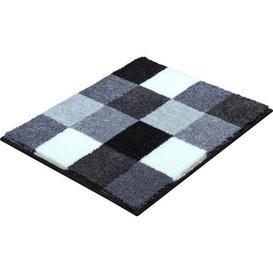 image-Bona Pedestal Mat Grund Colour: Grey/Brown/Blue