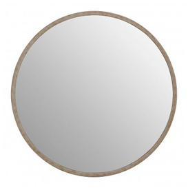 image-Siskin Round Wall Bedroom Mirror In Antique Silver Frame
