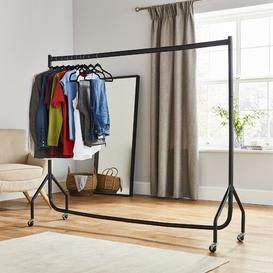 image-Heavy Duty Steel No Tools Required 180cm Wide Clothes Rail Symple Stuff